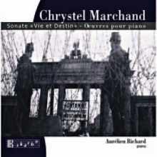 Coffret du CD de MARCHAND Sonate et Vie et Destin