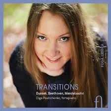 Coffret du CD de DUSSEK Sonate en fa majeur