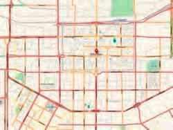 Plan de la ville de Xi'an