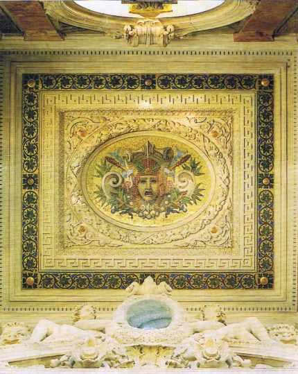 Un détail de l'Opéra Garnier