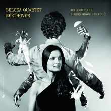 Coffret du CD Les Quators de Beethoven