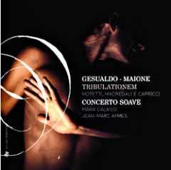 CD Concerto Soave de Gesualdo