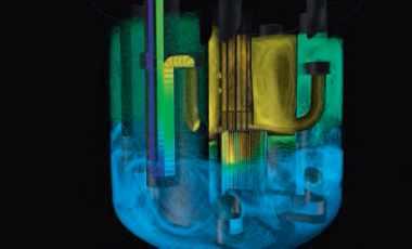 modélisation pour la conception de réacteurs nucléaire de 4e génération refroidis au sodium.