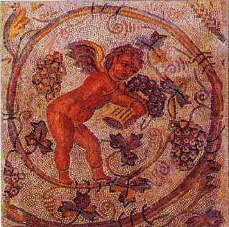 Mosaique de vigneron