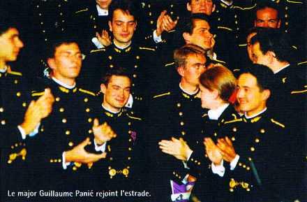 Le malor de la promotion 1995 de l'Ecole polytechnique : Guillaume Panié