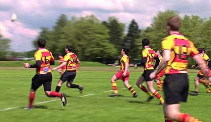 Tournoi de Rugby à l'Ecole polytechnique