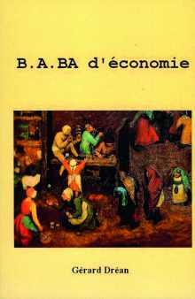 Livre : B.A. BA D'ÉCONOMIE par Gérard Dréan (54)