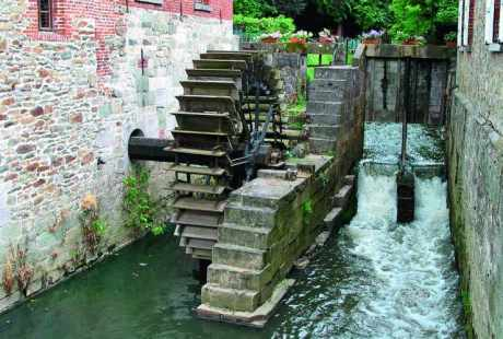 Moulin à eau de Braine-le-Château (Belgique).