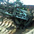 Excavatrice BAGGER des mines de charbon à ciel ouvert d'Allemagne