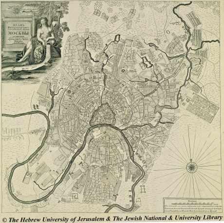 Plan de Moscou en 1739.