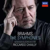 CD Symphonies de Brahms par Ricardo Chailly