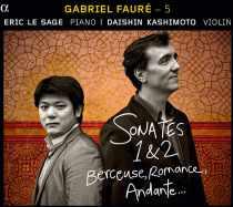 CD Sonates de Fauré