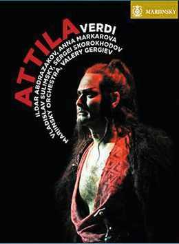 DVD Attila par Verdi
