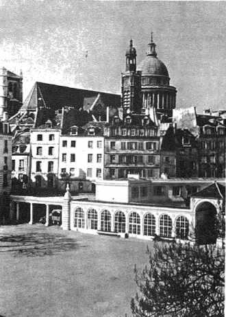 Le Panthéon vu de l'ancienne école polytechnique