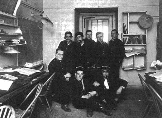 """Une """"salle"""" de l'école polytechnique en 1931"""