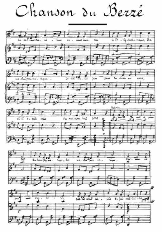 """La chanson du Berzé à l""""école polytechnique"""