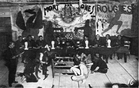 Séance des cotes en 1931 à l'école polytechnique