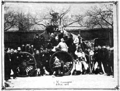 L'X consigné en 1912