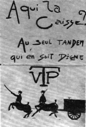 Affiche de la campagne de Kès 1919 à l'école polytechnique
