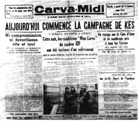 Journal pour la campagne de Kès 1934