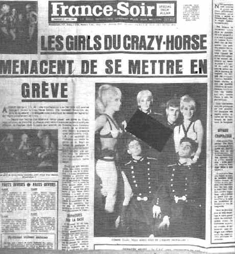 Les Girls du Crazy-Horse à l'école polytechnique (1952)