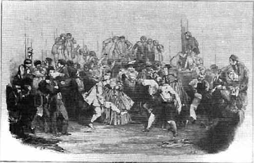 Le Mardi-gras (1851) à l'école Polytechnique.