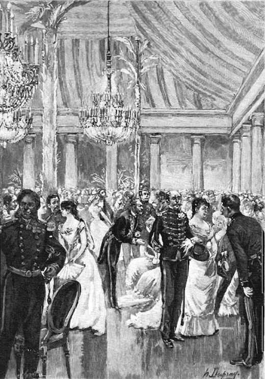 Le bal de l'école Polytechnique, au palais de la Légion d'Honneur.