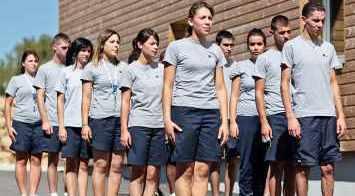 Epide, un groupe d'élèves sportis