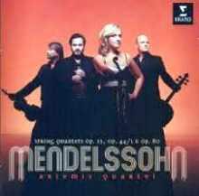 CD Mendelssohn : les quatuors
