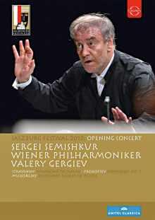 DVD Valery Gergiev au festival de Salzbourg 2012