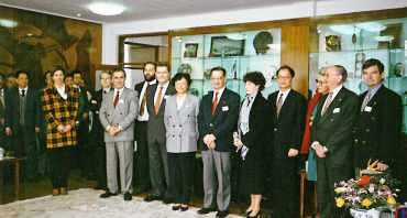 visite de l'ENPC à l'université Tongji à Shanghai