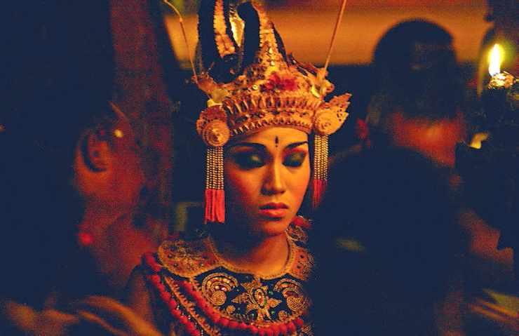 Scène culturelle en Indonésie