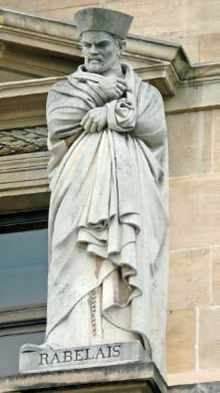 Statue de Rabelais