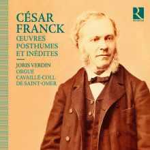 CD César Franck : Oeuvrs posthumes et inédites
