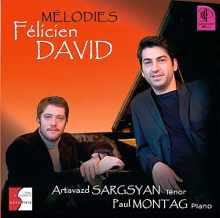 CD : Mélodies par Félicien DAVID