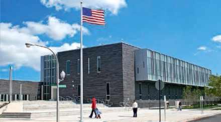 Une école de l'enseignement secondaire à Chicago