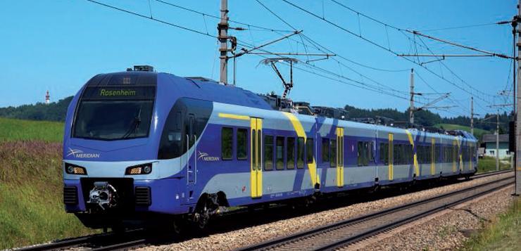 Trains Régionaux opérés par Transdev en Bavière.