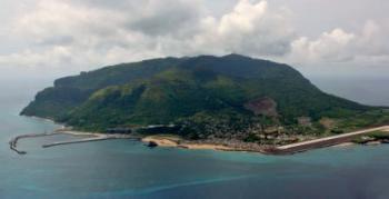 Projet après travaux de l'île d'Annobon en Guinée