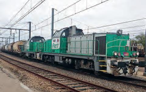 Locomotive de fret SNCF