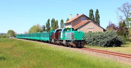 Train de fret OFP atlantique