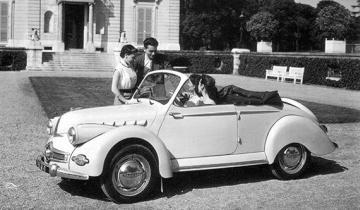 Cabriolet Panhard 53