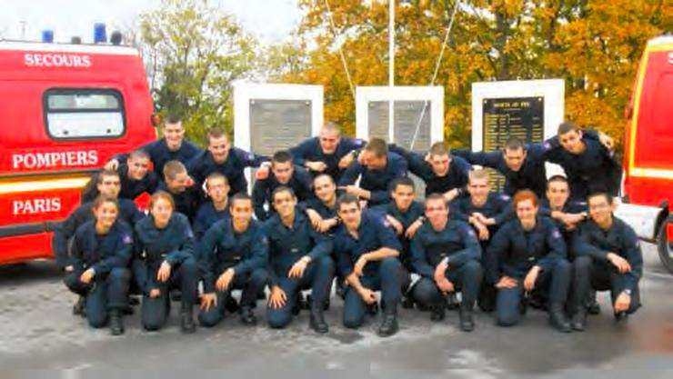 La brigade de sapeurs-pompier