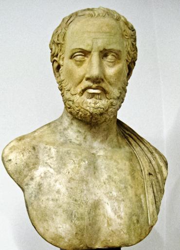 Statue de Lire Thucydide