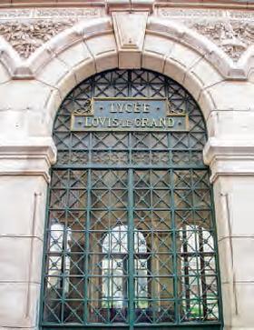 Porte du lycée Louis le Grand