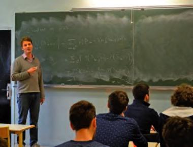 Max Hochart, professeur de mathématiques au lycée Blaise-Pascal