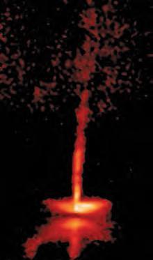 Des jets bipolaires émis par l'étoile en formation HH30