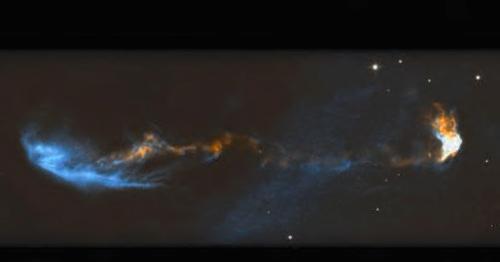 Jet émis par l'étoile en formation HH47