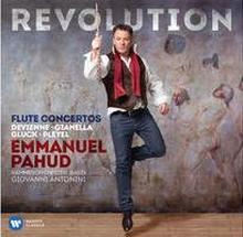 CD Révolution Flûte par Emmanuel Pahud