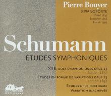 CD Etudes symphoniques de Schumann par Pierre BOUYER