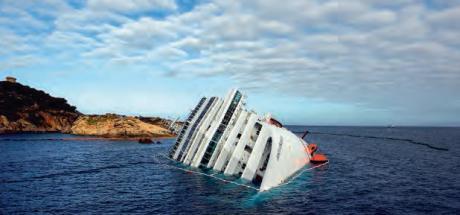 Le Costa Concordia.